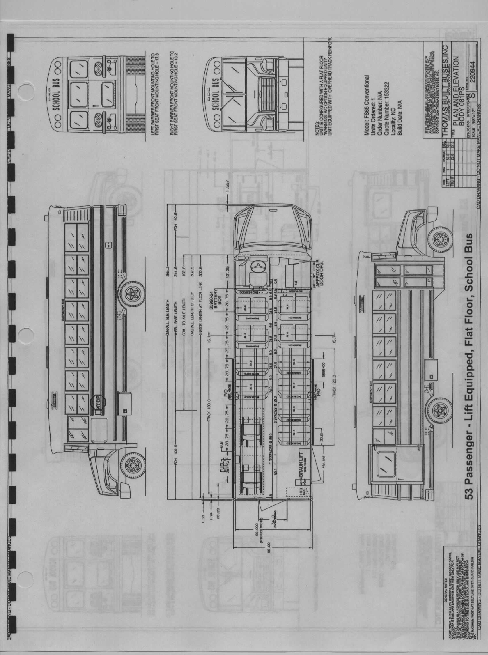 C2 School Bus Engine Diagram