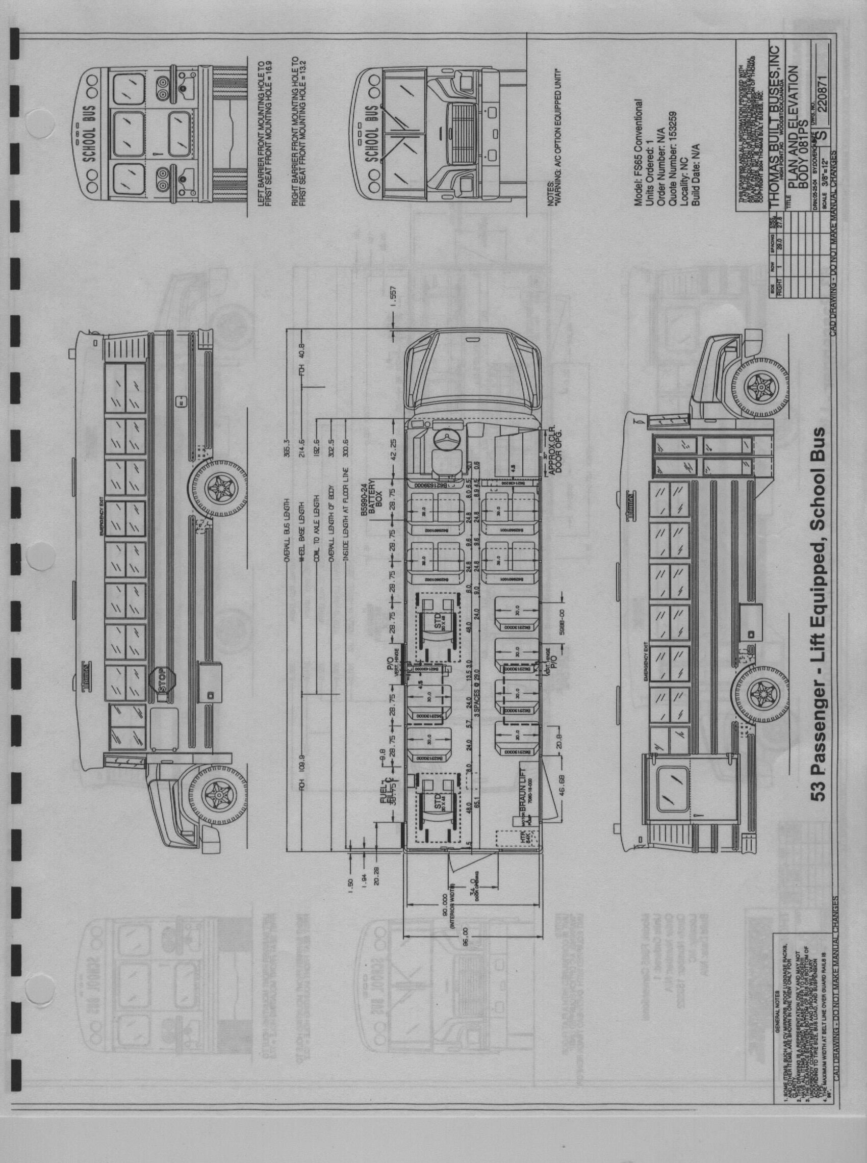 Thomas Built Buses Wiring Diagram