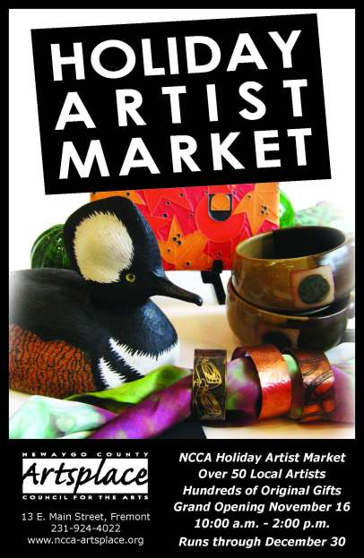 NCCA Artist Market Ad