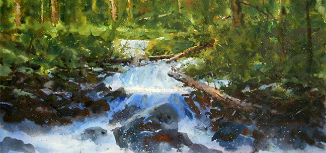 Eric Michaels: Landscapes In Watercolor and Oil