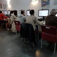 El NCC de Olivenza desarrolla una acción formativa relacionada con las TIC dirigida a jóvenes agricultores