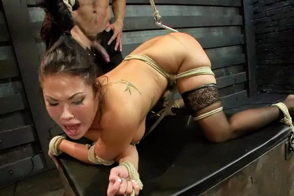 Sexy girls of the orient tied