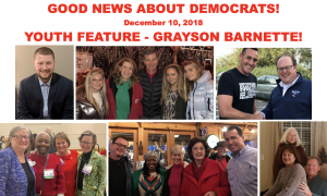 Good News About Democrats – December 10th, 2018
