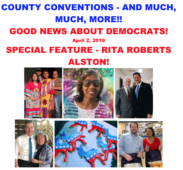 Good News About Democrats – April 2nd, 2019