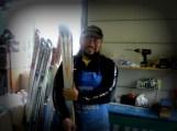 スキーチューンナップ作業7