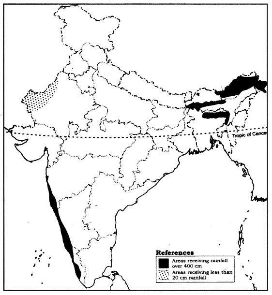 NCERT Solutions for Class 9 Social Science Geography Chapter 4 (Hindi Medium) 1