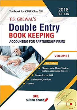 TS Grewal Accountancy Class 12 Solutions 2019-20 Volume 1 & 2