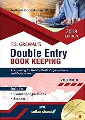 TS Grewal Accountancy Class 12 Solutions 2019-20 Volume 1 & 2