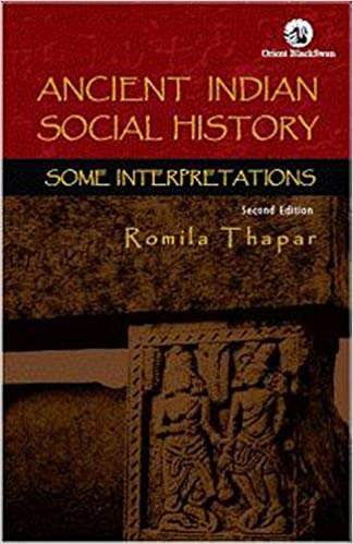 Ancient Indian History by Romila Thapar