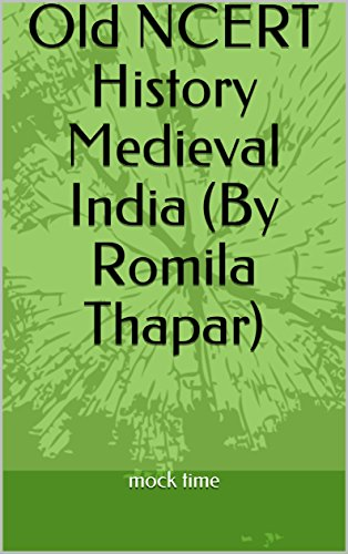 Medieval India History by Romila Thapar