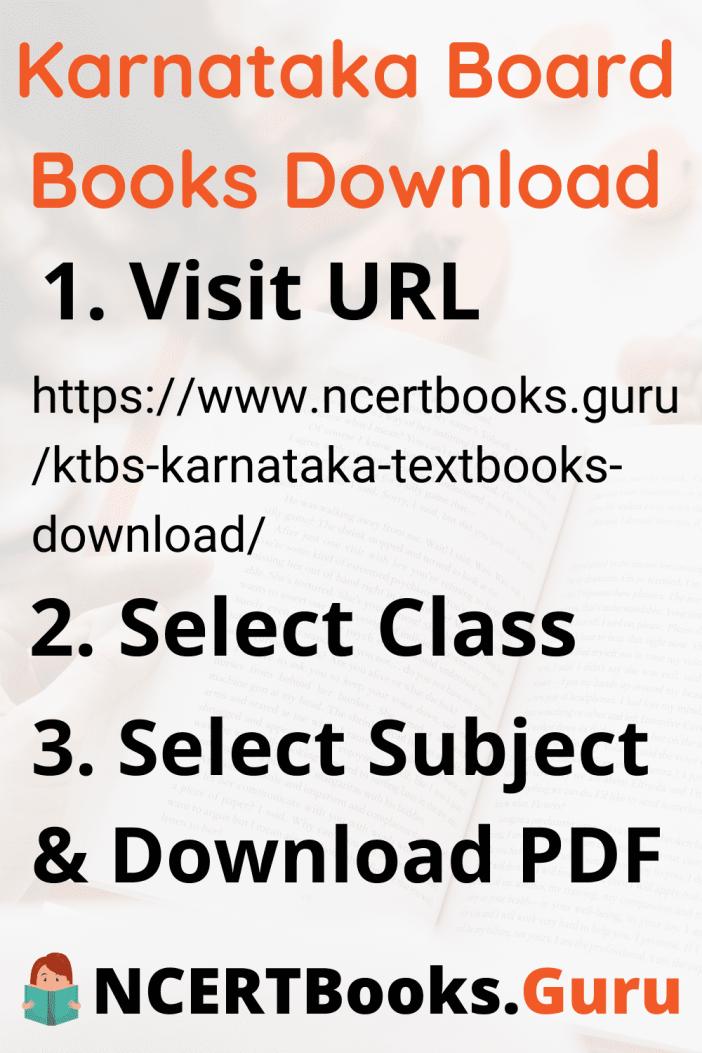 Karnataka Board Books Download