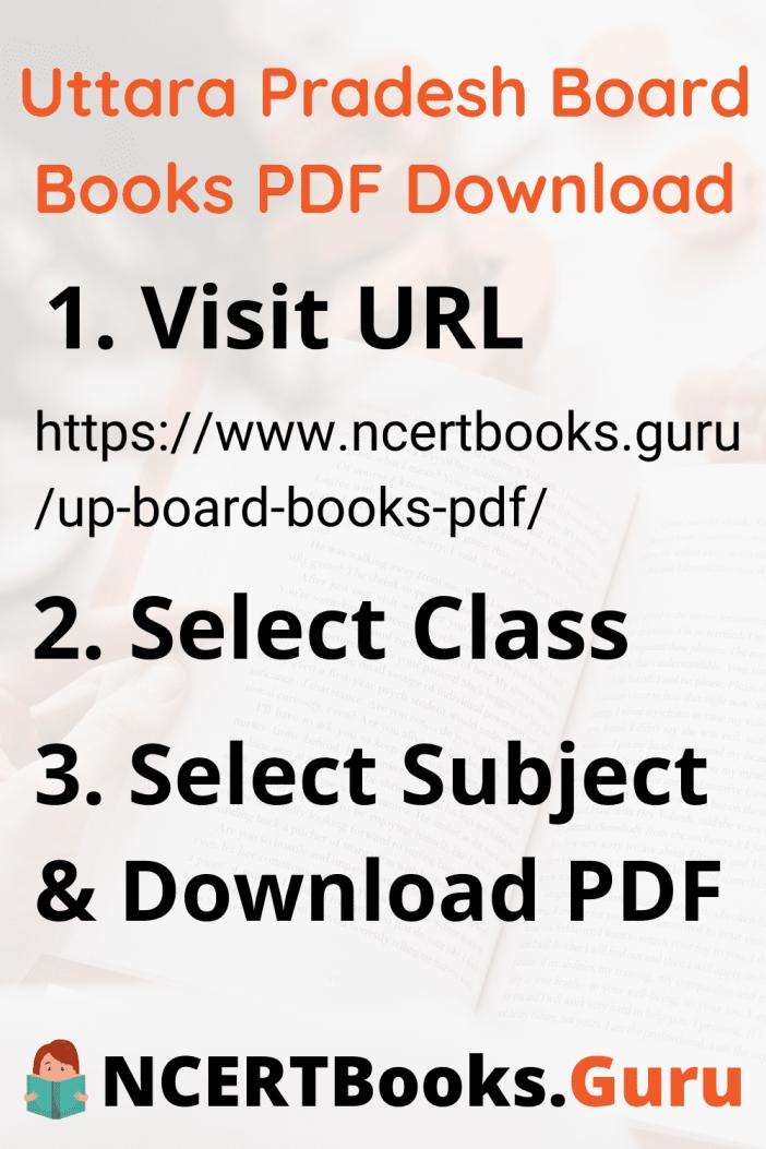 Uttara Pradesh Board Books PDF Download