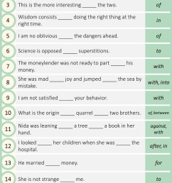 Preposition Exercises With Answers - NCERT Books [ 3096 x 1440 Pixel ]