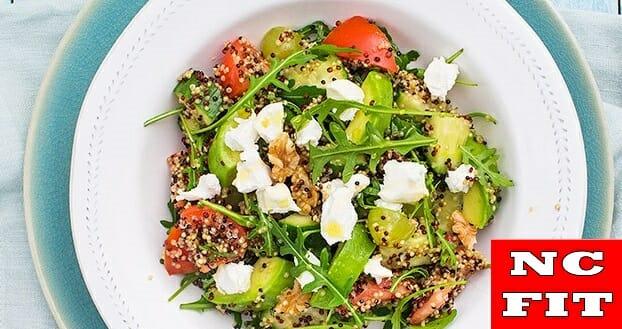 Quinoa salade met druiven