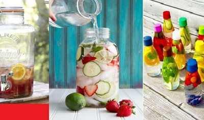 Suikervrije limonade maken