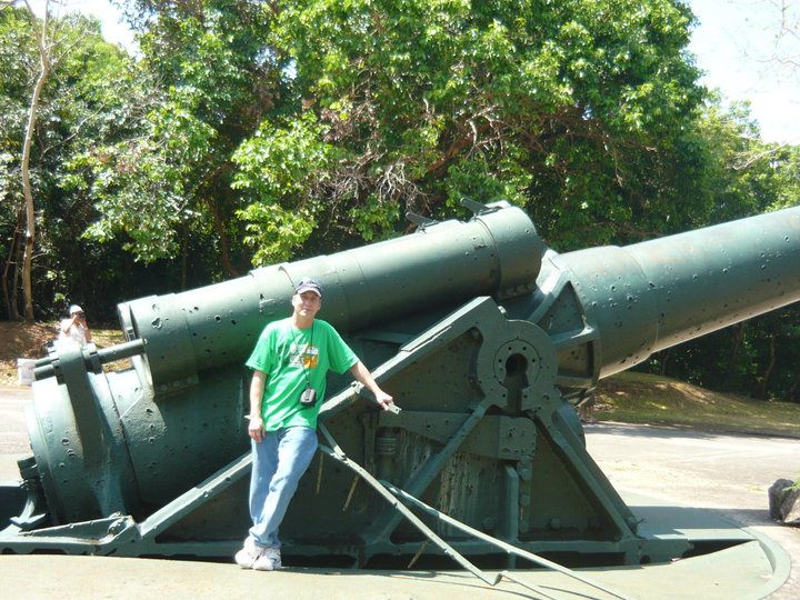Corregidor Island in Cavite City, Philippines
