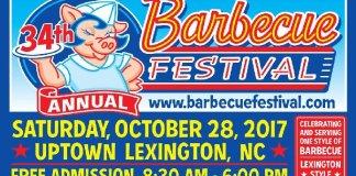 Lexington North Carolina Barbecue Festival 2017