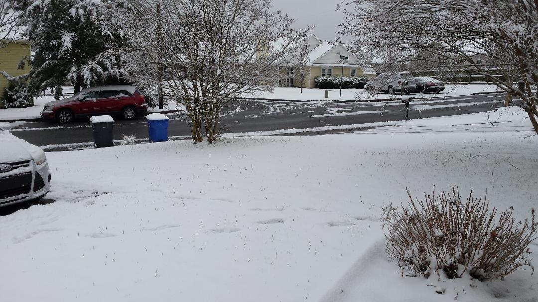 First Snow December 8 2017