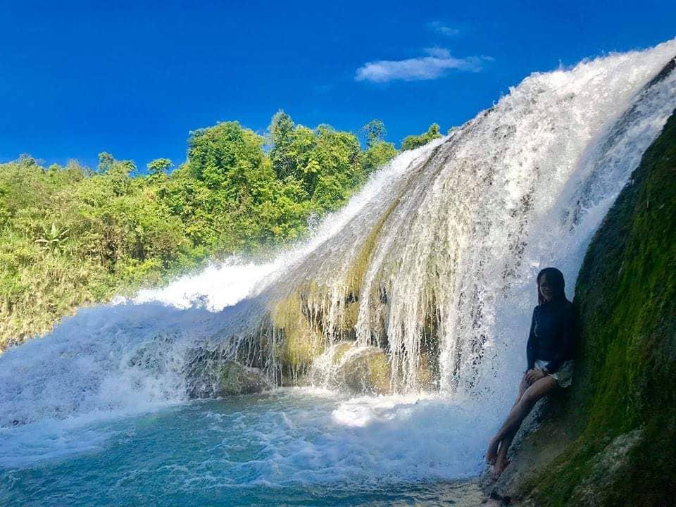 Lulugayan Falls in Calbiga Samar Philippines
