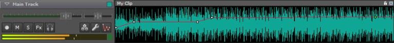 Music Mixer Track Controls