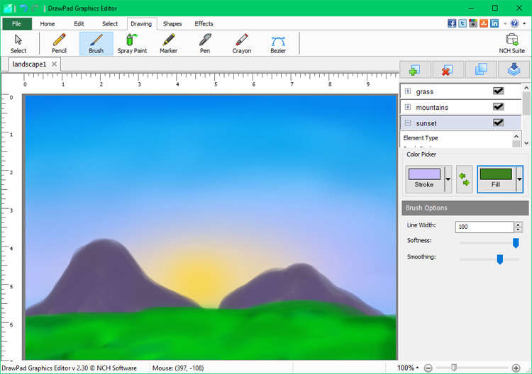 how to draw shadow diagrams 2007 toyota yaris car stereo radio wiring diagram drawpad graphic editing software screenshots