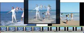 Edite las películas en su propio estudio de vídeo con los efectos de transición que son muy fáciles de usar.