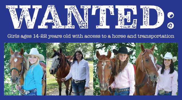 Wanted Ad for Rodeo Queen Contestants