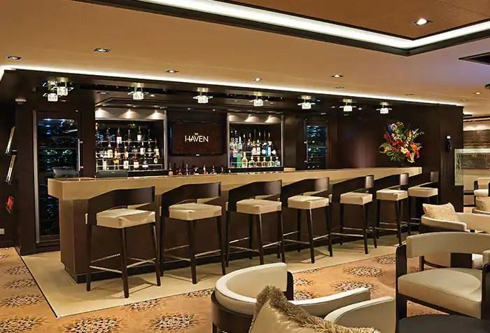ノルウェージャンクルーズライン ザ・ヘブン ラウンジ The Haven Lounge