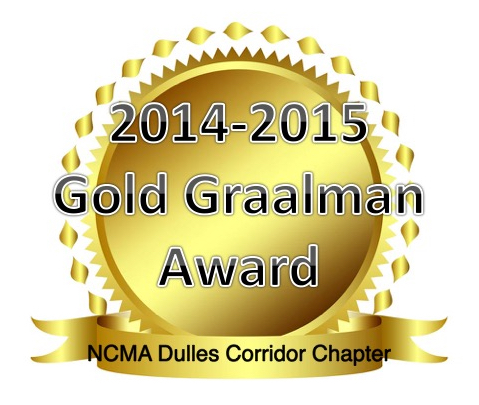 The Chapter Receives the Gold Graalman for the 2014-2015 Program Year
