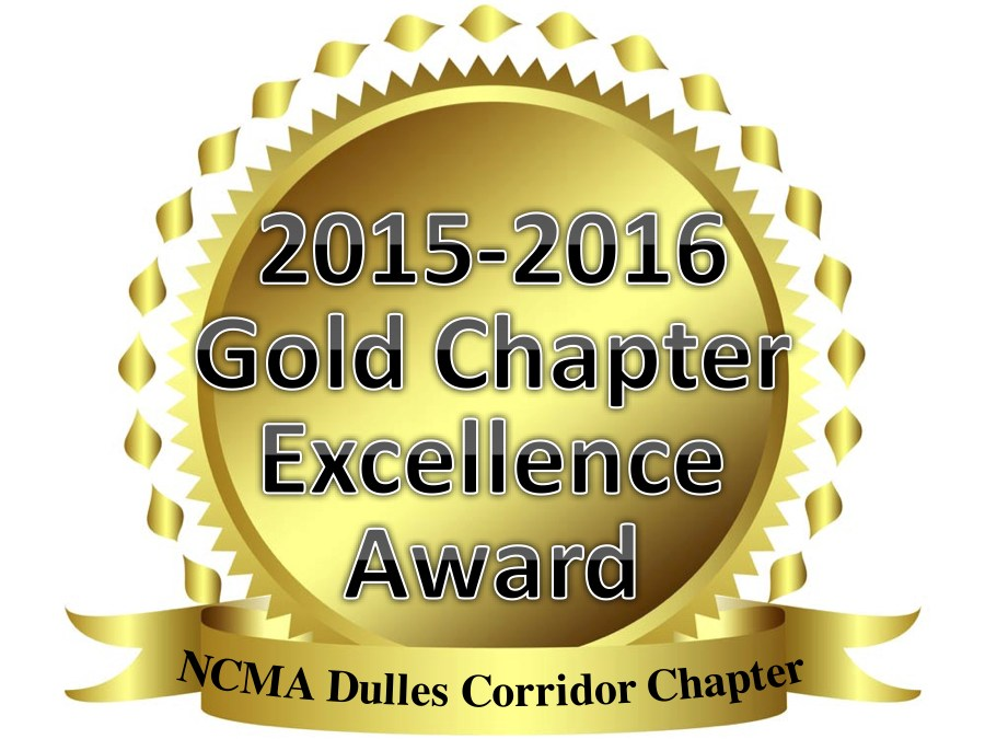 Dulles Corridor Chapter Receives Gold Chapter Excellence Award
