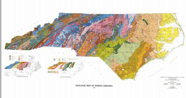 North Carolina Regions Coastal Plain Piedmont Mountains