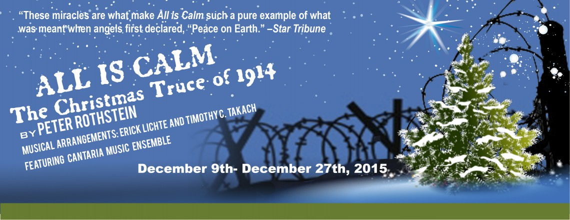 All is Calm, The Christmas Truce of 1914