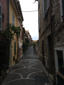 Another beautiful street in Antibes