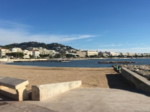 Cannes waterfront