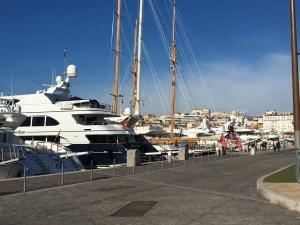 Yachts in Antibes