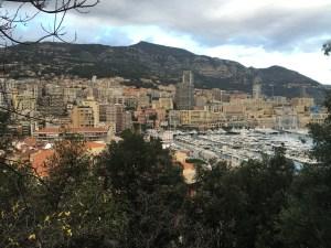 The view of Monaco