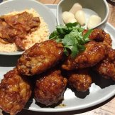 Korean fried chicken at M Kokko