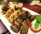 Kebabs at Neomonde
