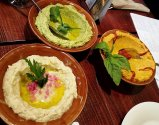 Fresh hummus at Neomonde