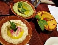 Fresh hummus at Neomonde