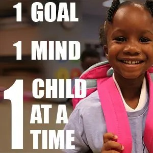 1 Goal, 1 Mind, 1 Child at a Time