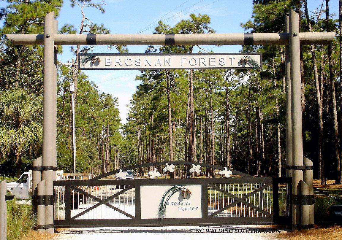 Custom Wrought Iron Driveway Gates Gate Automation