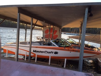 Clemson University Water Ski Team 2017 Boat