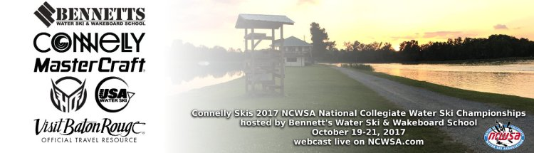 Connelly Skis 2017 NCWSA Nationals Banner: Visit Baton Rouge