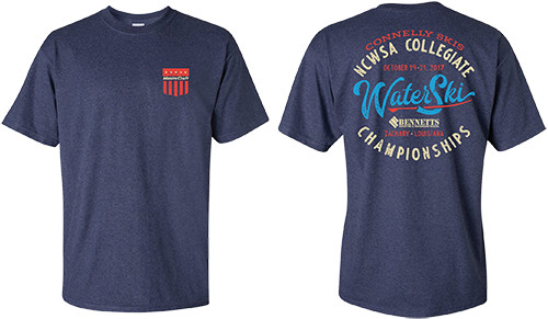 Connelly Skis 2017 NCWSA Nationals - T-Shirt