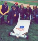 UW Stout Water Ski Team - Soap Box Derby 2017
