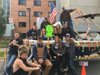UW Stout Water Ski Team - Homecoming Parade 2017