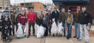 UW Stout Water Ski Team - Homecoming Cleanup 2017