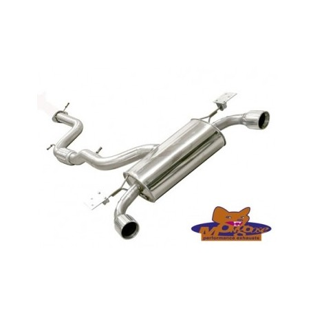 Ford Focus ST Mk2 Mongoose Cat Back Exhaust