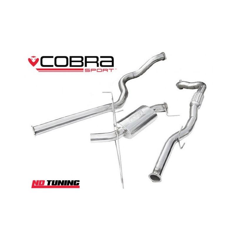 Vauxhall Corsa D VXR Cobra Turbo Back Exhaust